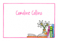 Reading Books for Girls Stationery
