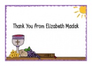 Communion Table Thank You Notes