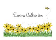 Yellow Daisy Stationery
