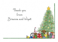 Christmas Tree Card Personalized Christmas Card