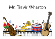 Musical Instruments Note Cards