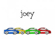 Happy Cars Stationery