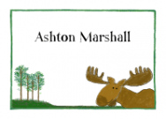 Moose Stationery