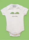 Turtle Girl Baby Bib