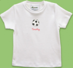 Girl's Soccer Ball T-Shirt