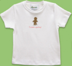 Girl's Gingerbread Girl T-Shirt