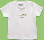 Boy's Blonde Baseball Boy T-Shirt