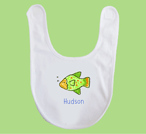 Ocean Friends Baby Bib