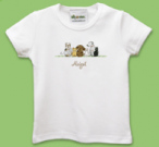 Dogs and Cats Baby Bib