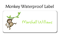 Monkey Photo Invitations