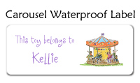 Carousel Waterproof Label