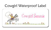 Cowgirl Waterproof Label