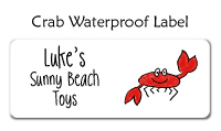 Crab Waterproof Label