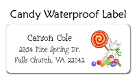 Candy Waterproof Label
