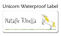 Unicorn Waterproof Label