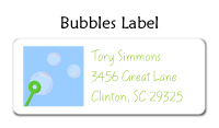 Bubbles Label