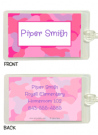 Pink Camouflage Thank You Notes