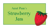 Strawberry Waterproof Label