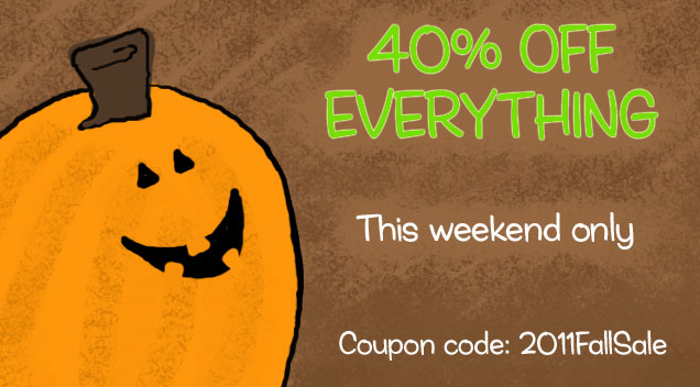 Enjoy 40% off your order!